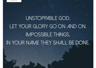 unstoppable-God