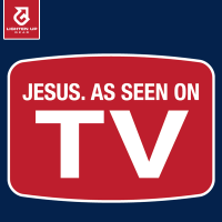 Jesus: As seen on TV t-shirt