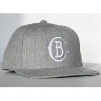 Barnabas gray logo snapback