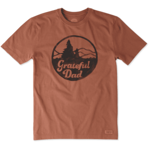 Life Is Good Grateful Dad T-Shirt