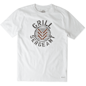 Life Is Good Grill Sargeant T-Shirt
