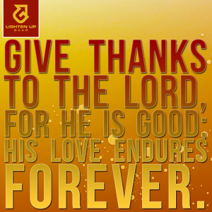 Psalm 106:1 - Give thanks!
