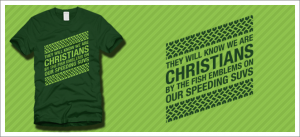 They will know we are Christians t-shirt