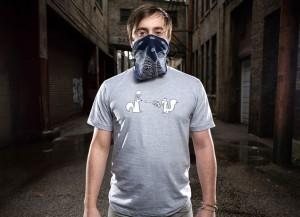 Squirrel Mugging T-Shirt by Threadless