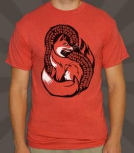 6DollarShirts Fox T-Shirt