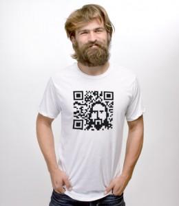 QR Code Jesus T-Shirt