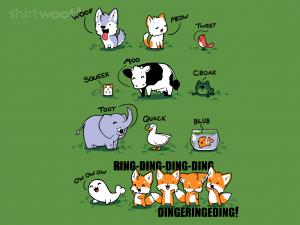Woot Fox T-Shirt