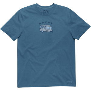 Life Is Good Happy Camper T-Shirt