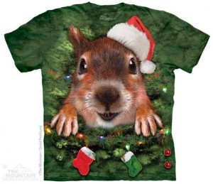 Christmas Tree Squirrel T-Shirt