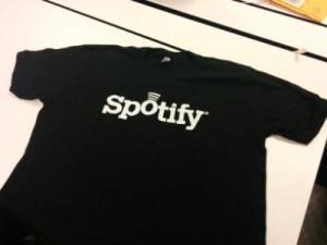 Black Spotify Logo T-Shirt