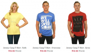 Jeremy Camp T-Shirts | Forge Band Merch