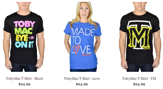 TobyMac T-Shirts by Forge Band Merch