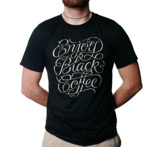 DearCoffeeILoveYou Drink Black Coffee Shirt