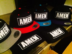 Amen Clothing Snapback Hat available for $25