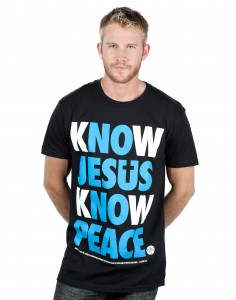 "This NOTW ""Know Jesus"" T-Shirt is available for $23."