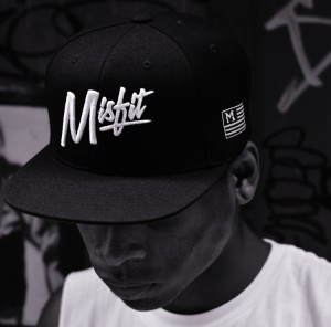 Misfit Brand Snapback Hat available for $30
