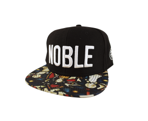 Noble Rebels Snapback Hat available for $28