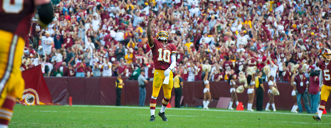 Robert Griffin III Told To Turn Christian T-Shirt Inside Out