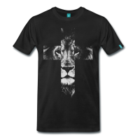 Cross Lion T-Shirt