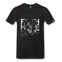 Faith Hope Love Lion T-Shirt