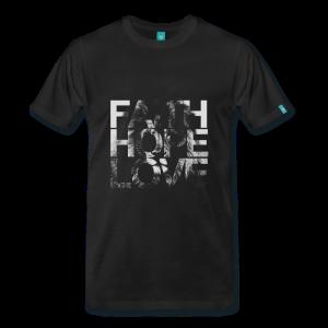 Faith Hope Love Lion T-Shirt