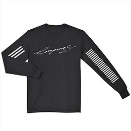 Hillsong United Empires long-sleeve black shirt