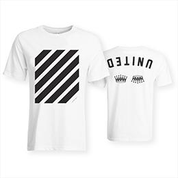 Hillsong United Empires short sleeve white shirt