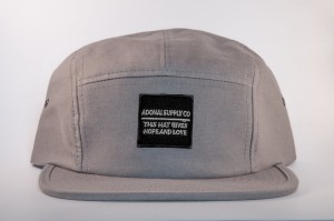 Adonai Supply Company gray 5-panel snapback