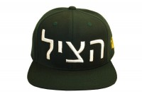 Live Forever NYC green Hebrew saved snapback