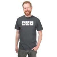 Think Geek Periodic Bacon T-Shirt