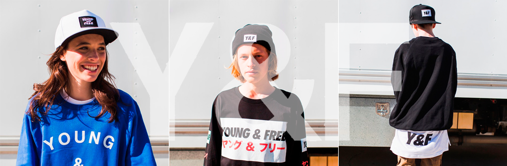 New Young & Free (Y&F) Snapbacks & Beanies