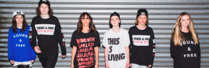 Hillsong Young & Free (Y&F) T-Shirts, Sweatshirts, Snapbacks and Beanies