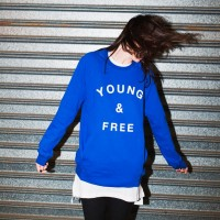 This Hillsong Young & Free (Y&F) Blue Sweatshirt is available at Hillsong.com for $49.99.