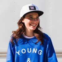This Hillsong Young & Free (Y&F) White Snapback is available on Hillsong.com for $29.99.
