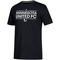 Minnesota United FC Adidas Black Dassler City Nickname T-Shirt ($24.99)