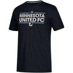 Minnesota United FC Adidas Black Dassler City Nickname T-Shirt ($24.99)