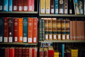 Bibles and commentaries Photo by Jonathan Simcoe on Unsplash